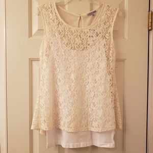 2 for $12! NWT Charlotte Russe Top and Cami Bundle